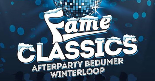Afterparty Bedumer Winterloop - Fame Classics - Grand Café Koning Bedum