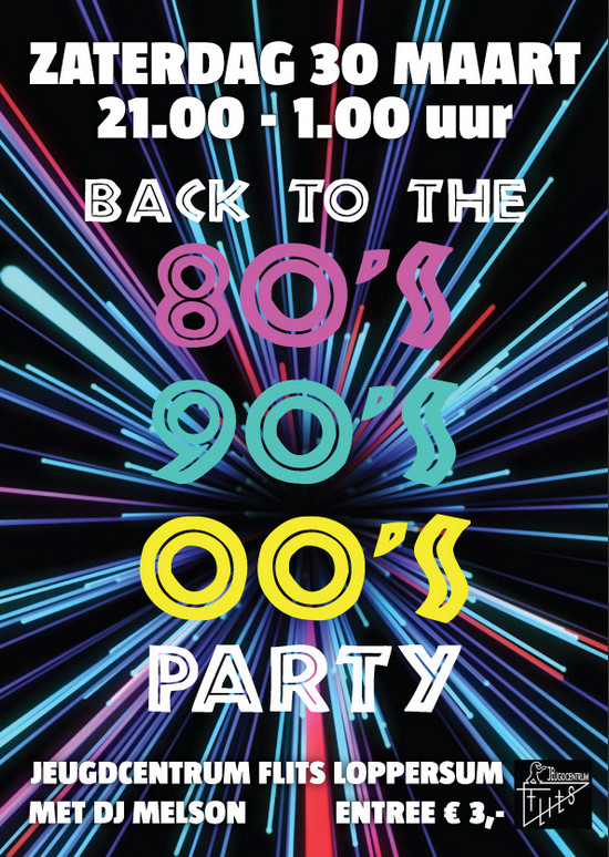 Back to the 80s/90s/00s Party in Flits Loppersum