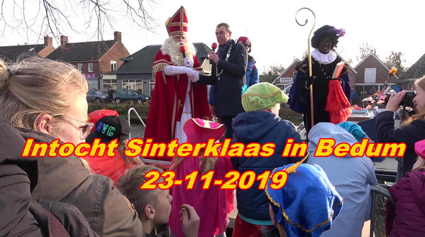 Video intocht Sinterklaas in Bedum